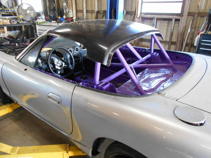 New Special Chop Top For Race Miata S