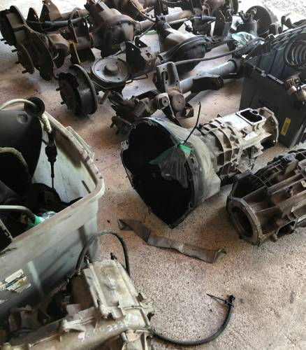 Used 1997 - 2006 TJ Jeep Parts - Drive Train, Transmission and Differential