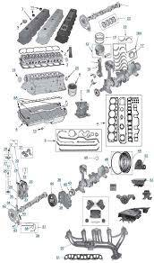 New 1997 - 2006 TJ Jeep Parts - Engine & Accessory Components