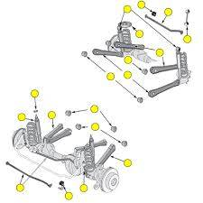 New 1997 - 2006 TJ Jeep Parts - Suspension, Chassis, Steering & Brakes