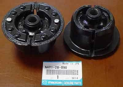 '90 - '05 Miata Differential Rubber Mounts, Mazda Competition FULL SET(2) - Image 1