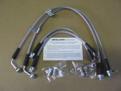 Techna-Fit Stainless Steel Brake Line Kit for '06 - '13 MAZDA MIATA MX-5  - FREE SHIPPING - Image 1