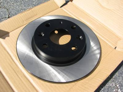 Centric 1.6 Premium Rear Brake Rotor '90 - '93 - Image 1