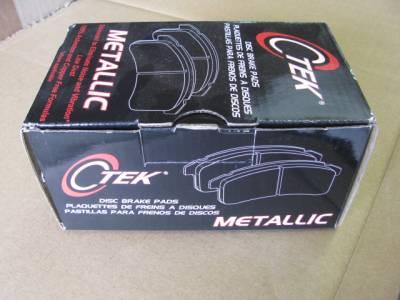 Centric C-TEK Metallic Brake Pads Front 1.6 '90-'93