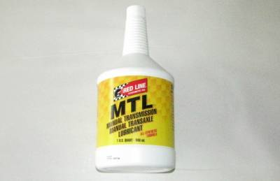 Red Line MTL SAE 75w80 Miata Manual Transmission Fluid