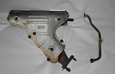 '01-'05 Exhaust Manifold with Heat Shield and EGR Tube (Great upgrade for '99-'00 cars!) - Image 1