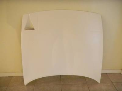 '90 - '97 Miata New Lightweight 9 lb Fiberglass Race Hood with air intake