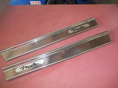 '90 - '97 Miata Door Sills, stainless steel set - Image 1