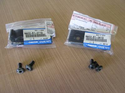 '90-'05 New OEM Hardtop Side Striker Pair, used hardware - Free Shipping