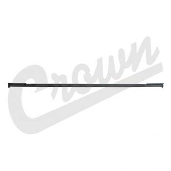 Jeep Wrangler (TJ) (1997-2006) w/ Hard Top; Lower Liftgate Weatherstrip. - Image 1