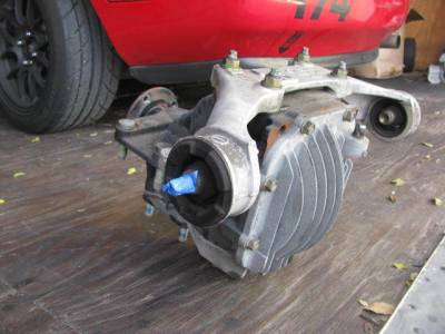 2006 Mazda Miata Open Differential