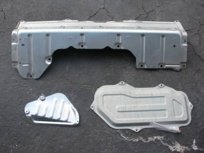 Miata 3 Rear Deck Package Tray Panels '90-'97