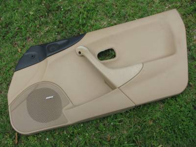 Miata 99-05 - Body, Internal Inc. Seats, Dash, AC, Tops - Miata '99-'00 Tan Bose Door panel, Passenger