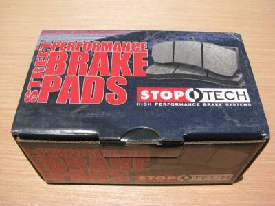 New Miata Parts '99-'05 - Suspension, Chassis, Steering, Brakes - Stoptech Street Performance 1.8 Non Sport Rear Brake Pads, Set