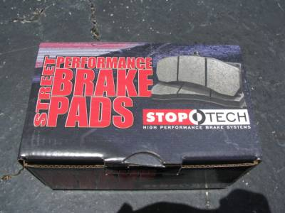 New Miata Parts '90-'97 - Suspension, Chassis, Steering, Brakes - Stoptech Street Performance 1.6 Rear Brake Pads, Set