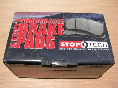 New Miata Parts '90-'97 - Suspension, Chassis, Steering, Brakes - Stoptech Street Performance 1.6 Front Brake Pads, Set