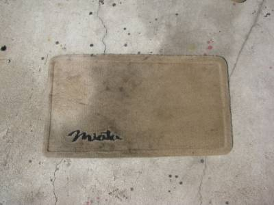 '99-'05 NB Tan Floor Mat Set - Image 2