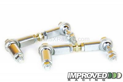 5xRacing Improved Adjustable Front Sway Bar End Links, '90 - '05 Miata