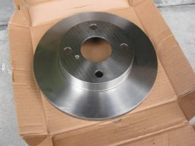 Centric C-TEK OEM Replacement 1.6 Front Brake Rotor '90 - '93 - Image 2
