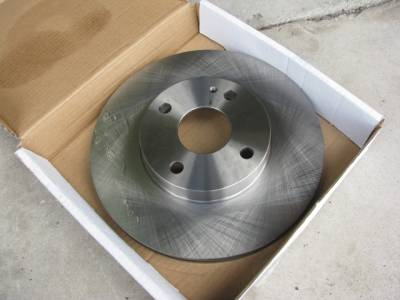 New Miata Parts '99-'05 - Suspension, Chassis, Steering, Brakes - Centric C-TEK OEM Replacement 1.8 Front Brake Rotor '94 - '05 Non Sport