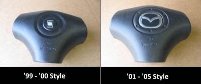 Miata 99-05 - Body, Internal Inc. Seats, Dash, AC, Tops - '99-'05 3-Spoke Steering Wheel Air Bag (Drivers side)