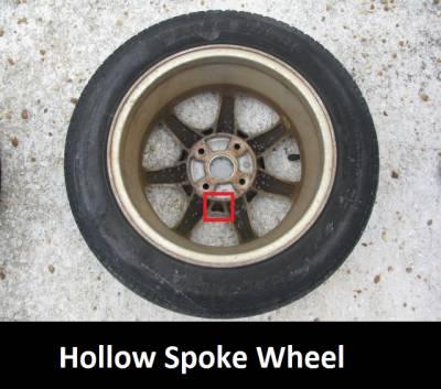 """14"""" by 6"""" 7 Spoke Wheel - Image 4"""