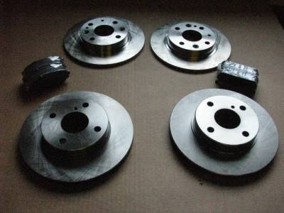 01' - 05' (with Factory Big/Sport Brakes) Miata Complete Brake Package