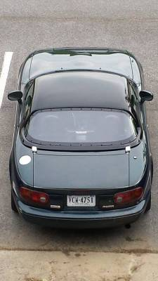 Light Weight Hard Top/Body - '90 - '05 Miata Lexan Window For OEM and Light Weight Hard Top