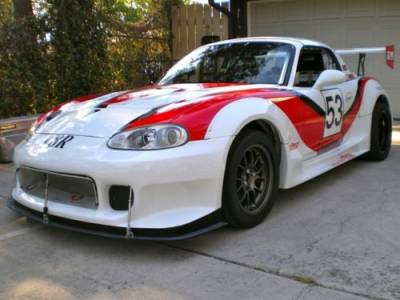 New Miata Parts '99-'05 - Body, External Inc. Lighting - '99 - '05 GT Wide Body Kit