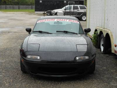 New Spec Miata Parts '90-'97 - Body, External Inc. Lighting - '90 - '97 Miata Aftermarket R Package Front Lip Spoiler