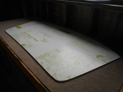 Brand New '90 - '05 Lexan Front Windshield (excellent for Chump series and other race cars) - Image 2