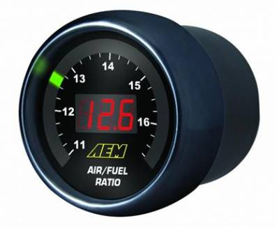 AEM Digital Wideband UEGO Air/Fuel Ratio Gauge Kit - Image 1