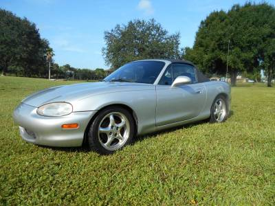 Pre-Owned Vehicles - 1999 Silver Mazda Miata