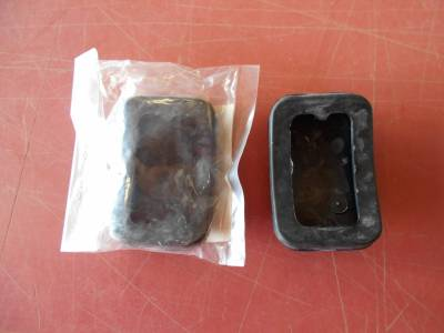 '90 - '05 Miata New Rubber Pedal Pads (pair), B092-43-028 - FREE USPS SHIPPING - Image 2