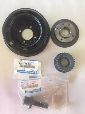 '91 - '05 Miata Timing Belt/Crank Pulley Components Kit - FREE SHIPPING - Image 4
