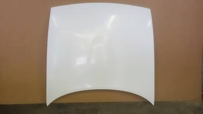 '90 - '97 Miata New Lightweight 9 lb Fiberglass Race Hood - no cut outs - Image 1