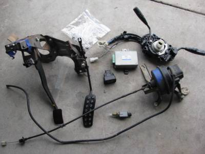 Miata 90-97 - Body, Internal Inc. Seats, Dash, AC, Tops -  90-93 Cruise Control Kit including Pedal