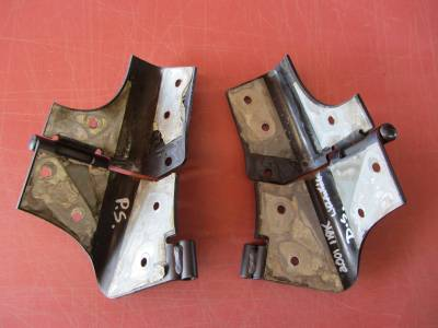 97-06 Jeep Wrangler windshield frame hinges (set of 2) - Image 1