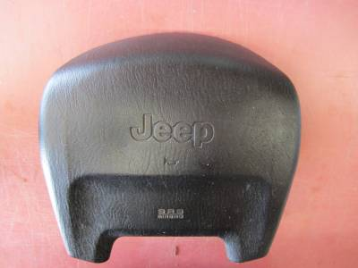 Used 1997 - 2006 TJ Jeep Parts - Body, Internal inc. Seats, Dash, A/C & Tops - 03-06 Jeep Wrangler airbag (driver)