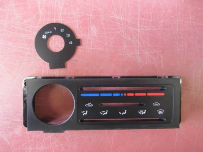New OEM 90-97 Mazda Miata AC control panel plate - Image 2