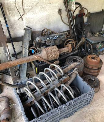 Treasure Coast Jeeps - Used 1997 - 2006 TJ Jeep Parts - Suspension, Chassis, Steering Brakes