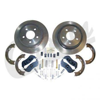 New 1997 - 2006 TJ Jeep Parts - Suspension, Chassis, Steering & Brakes - Crown Rear Disc Brake Service Kit  (2003-2006)