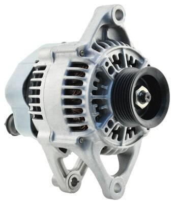 New 1997 - 2006 TJ Jeep Parts - Electrical, Engine & Body - 2001-2002 TJ Jeep 117 Amp Remanufactured Alternator w/ 2.5L engine.