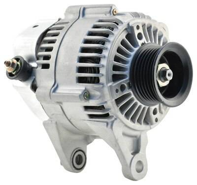 New 1997 - 2006 TJ Jeep Parts - Electrical, Engine & Body - 2000 TJ Jeep 81 Amp Re-manufactured Alternator w/ 4.0L engine