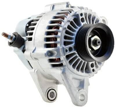 New 1997 - 2006 TJ Jeep Parts - Electrical, Engine & Body - 2001-2006 TJ Jeep 81 Amp Re-manufactured Alternator w/ 4.0L engine