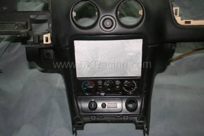 1999-2005 Mazda Miata Radio Delete Plate - Image 2