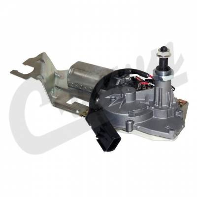 New 1997 - 2006 TJ Jeep Parts - Body, Internal inc. Seats, Dash, A/C & Tops - Hard Top Wiper Motor (Rear), (TJ) (2003-2006)