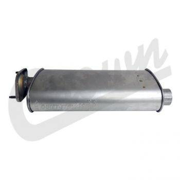 Engine & Accessory Components - 1997 - 2006, 4.0L TJ Jeep engine parts - Muffler, TJ 1/24/2000-2006 w/ 4.0L engine.