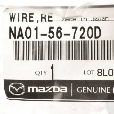New OEM Hood Release Cable, NA01-56-720D Miata '90 - '97 - Free Shipping - Image 2