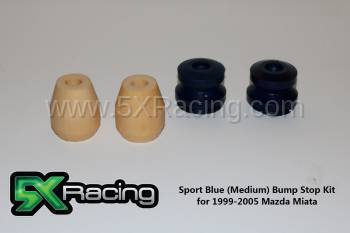 New Miata Parts '99-'05 - Suspension, Chassis, Steering, Brakes - 5X RACING SPORT BUMP STOP KITS FOR 1999-2005 MIATA